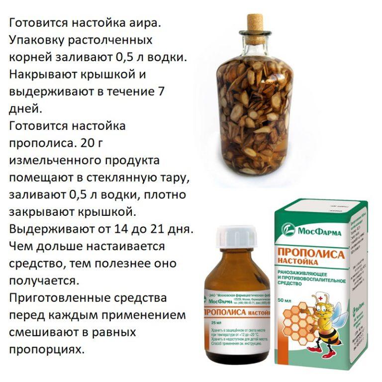 Настойка прополиса на спирту применение инструкция от простатита простатит анаэробные бактерии