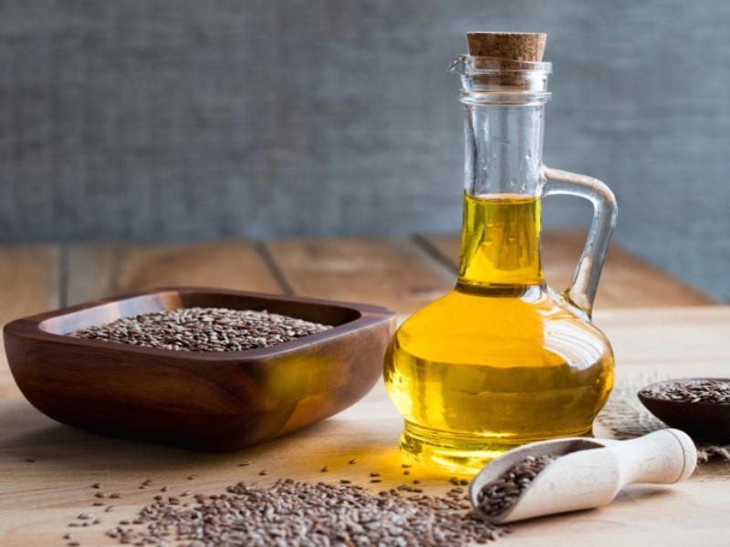 свежедавленое льняное масло
