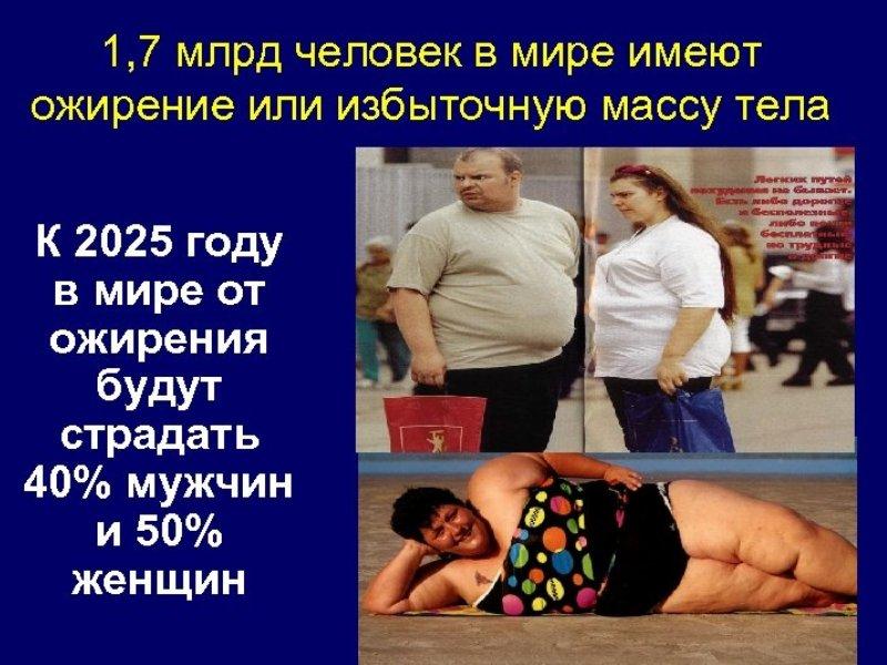 6 видов ожирения